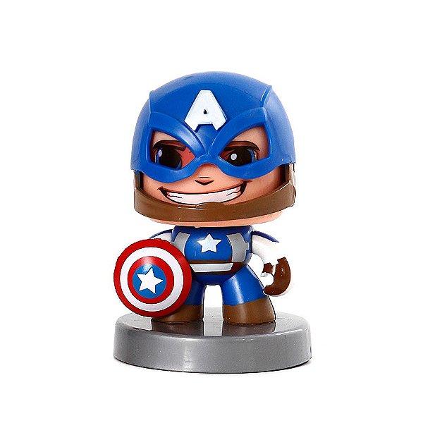 Boneco Capitão América Funko Pop Mighty Muggs Vingadores Marvel