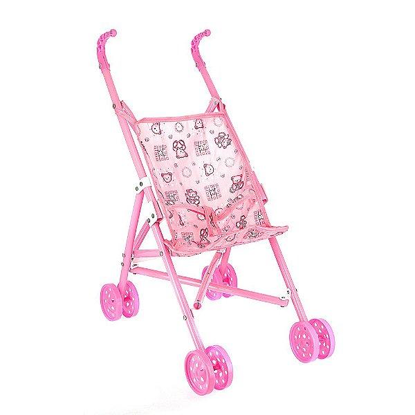 Carrinho De Boneca Dobrável Para Menina Brinquedo Infantil