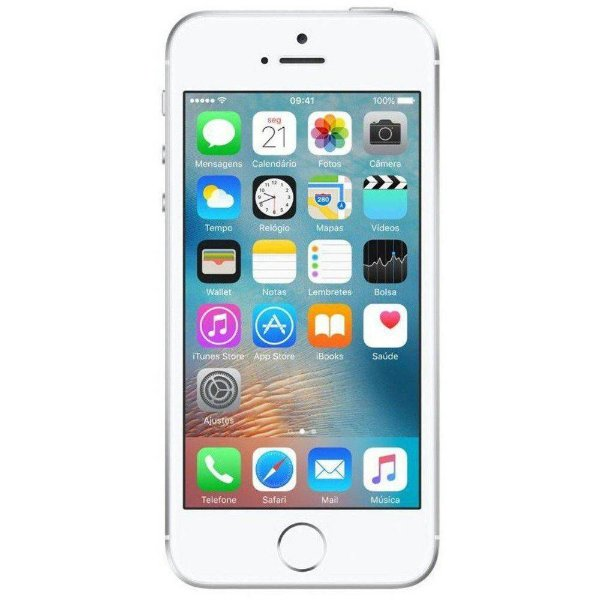 Iphone SE 128GB Prata Apple