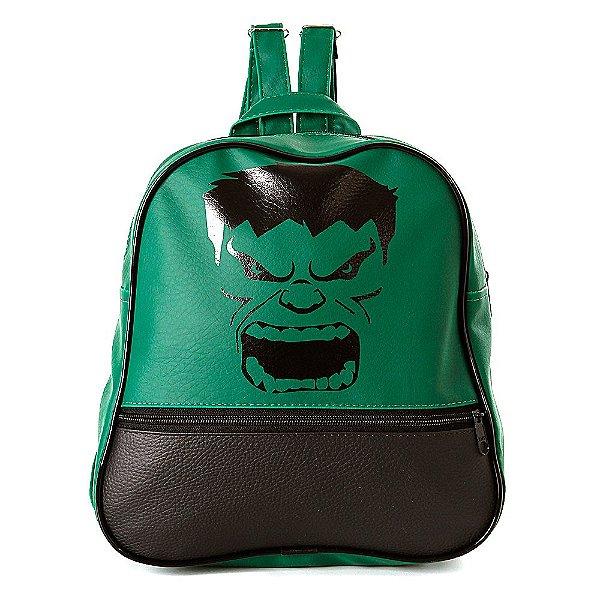 Mochila Infantil Hulk de Costas Pequena