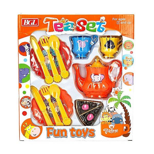 Kit Cozinha TeaSet Fun Toys Piquenique
