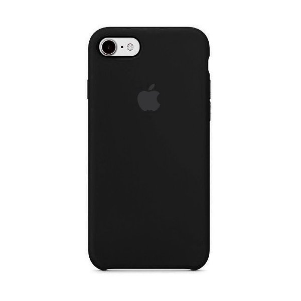 Capa para iPhone 6s Plus em Silicone Apple Preto