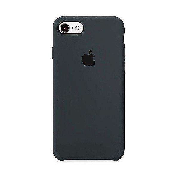 Capa para iPhone 6s Plus em Silicone Apple Cinza