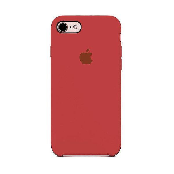 Capa para iPhone 6s Plus em Silicone Apple Vinho