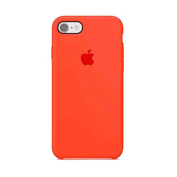 Capa para iPhone 6s Plus em Silicone Apple Vermelho