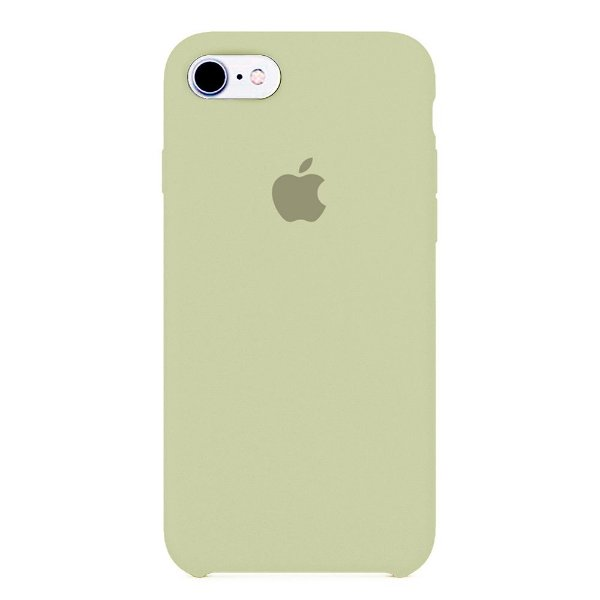 Capa Iphone 7/8 Silicone Case Apple Creme