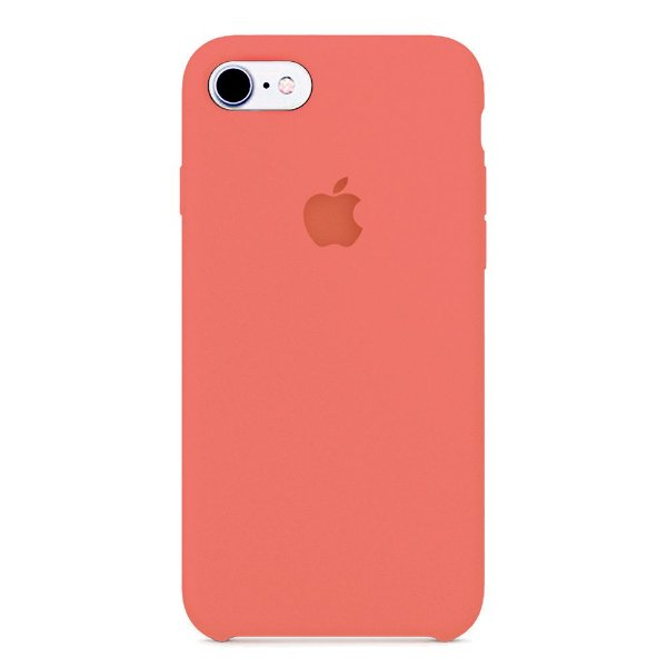 Capa Iphone 7/8 Silicone Case Apple Rosa