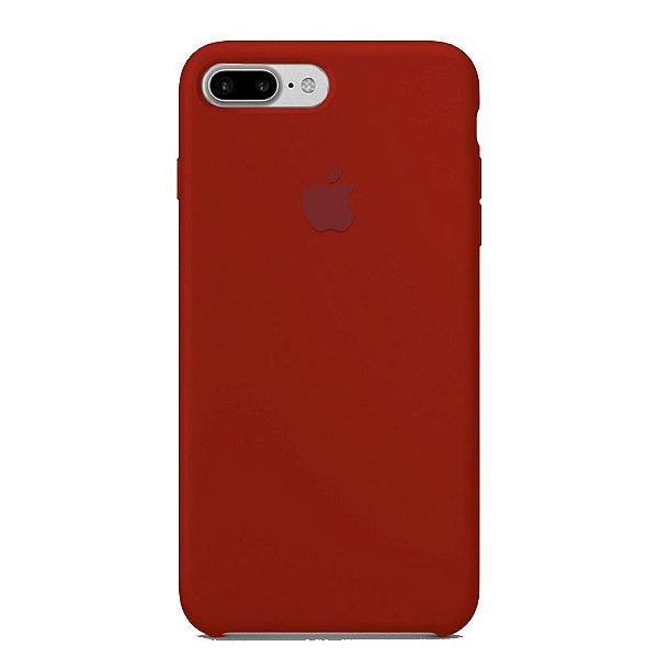 Capa Iphone 7/8 Plus Silicone Case Apple Vermelho