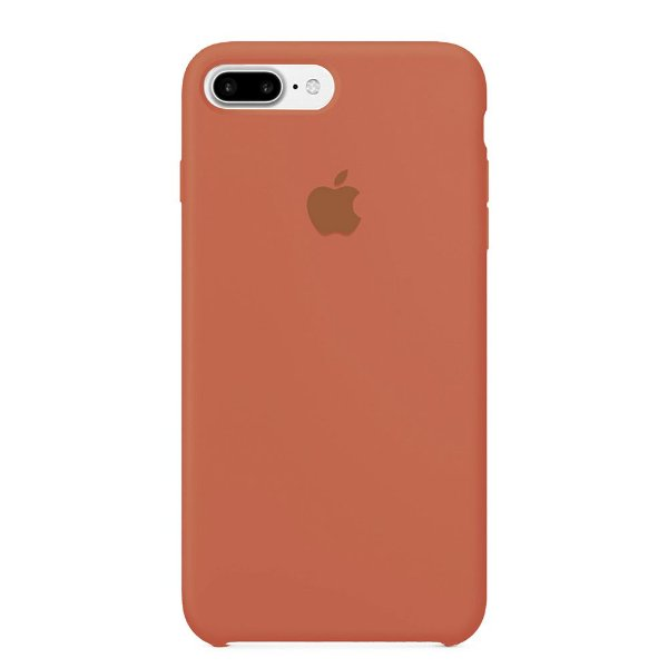 Capa Iphone 7/8 Plus Silicone Case Apple Salmão