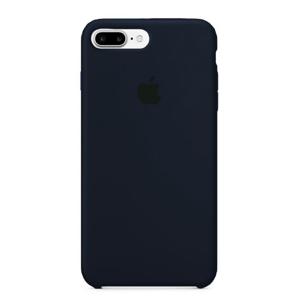 Capa Iphone 7/8 Plus Silicone Case Apple Azul Marinho
