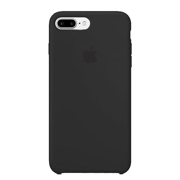 Capa Iphone 7/8 Plus Silicone Case Apple Preto