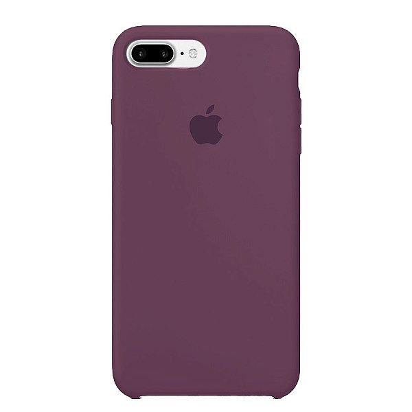 Capa Iphone 7/8 Plus Silicone Case Apple Roxo Claro