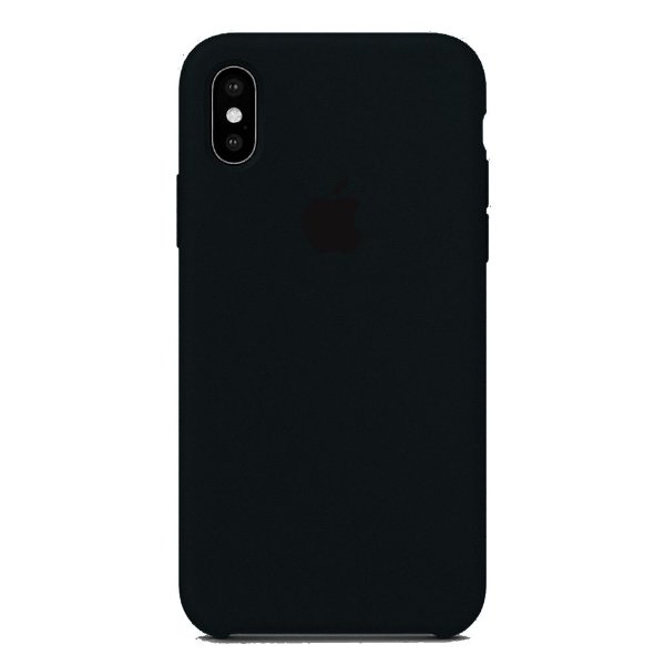 Capa Iphone X Silicone Case Apple Preto