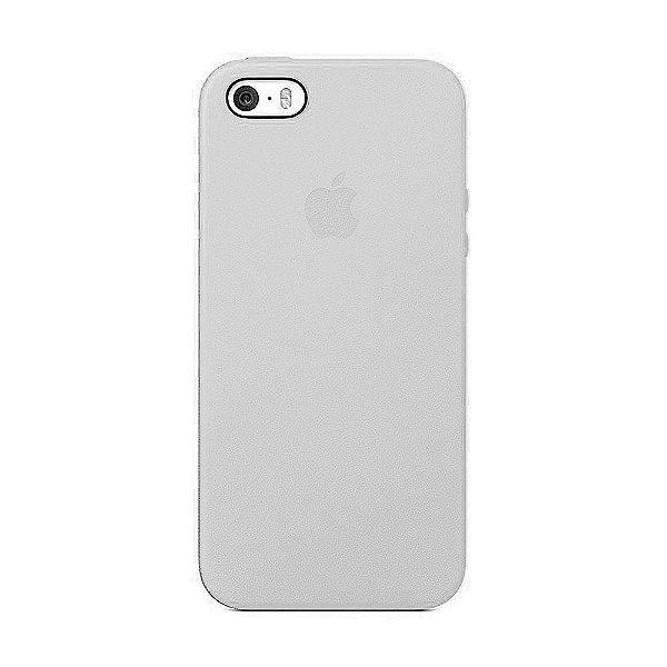 Capa Iphone SE Silicone Case Apple Branco