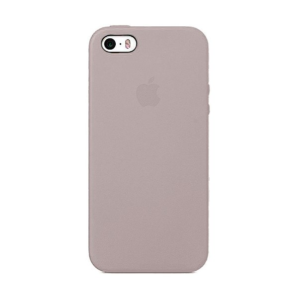 Capa Iphone SE Silicone Case Apple Pink Sand