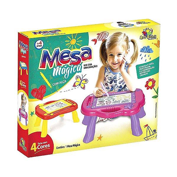 Mesa Mágica Com Alça Lousa Infantil - Art Brink