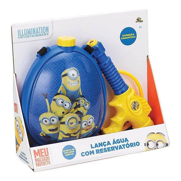 Brinquedo Infantil Lança Água Pistola Minions Meu Malvado Favorito Com Reservatório