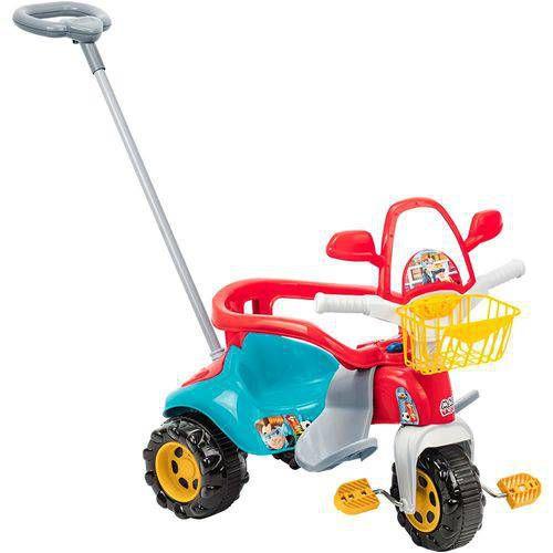 Triciclo Tico-Tico Zoom Max Com Aro Velotrol Infantil