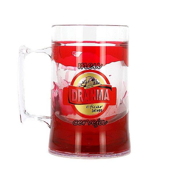 Caneca Térmica Com Gel Congelante Drahma 430ml