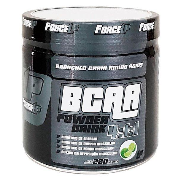 Suplemento Alimentar De BCAA Porwer Drink 4:1:1 280g - Limão - ForceUP