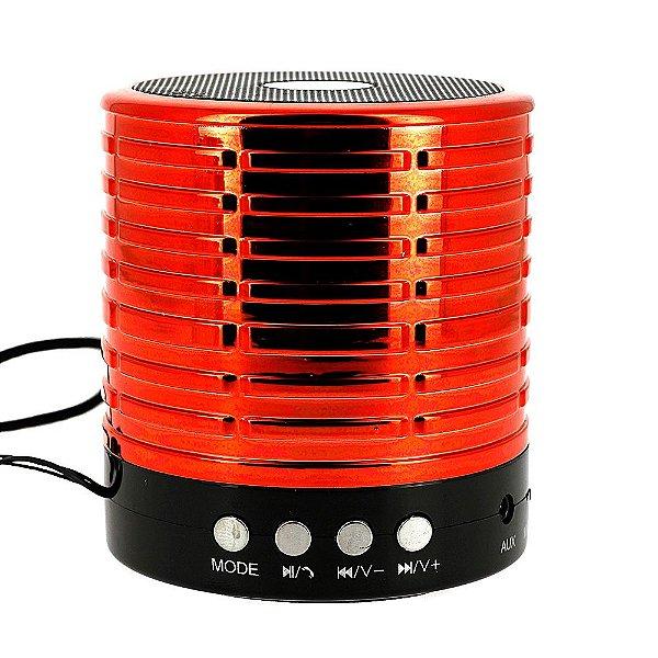 Caixa De Som Portátil Vermelha Bluetooth RAD-398Z - Inova