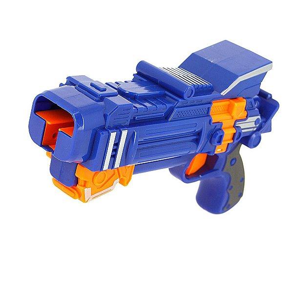 Super Arma Lançadora De Bayblades Brinquedo Infantil Azul TK-HD001