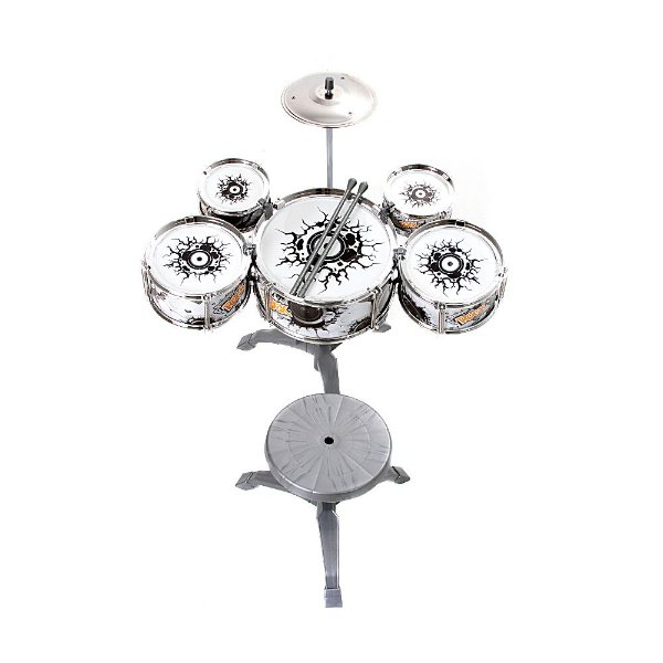 Brinquedo Instrumento Musical Bateria Infantil Rock Party