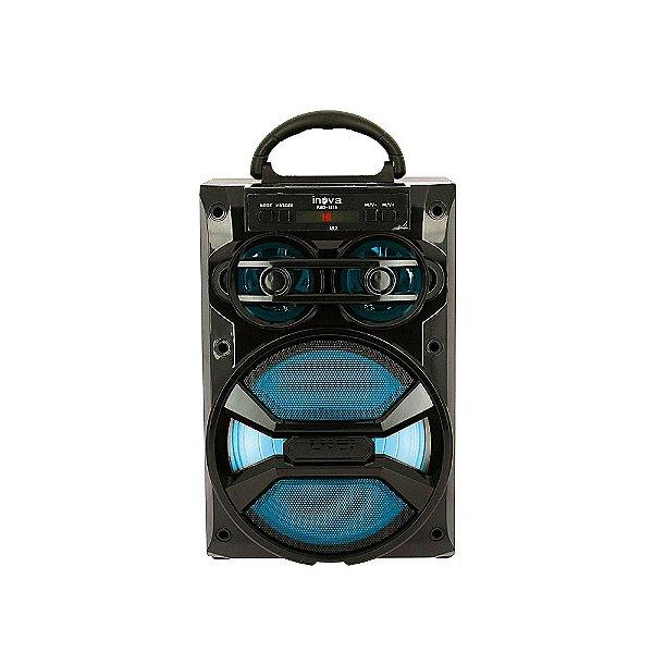 Caixa De Som Móvel Bluetooth Hi-Fi - Preto - RAD-8116 - Inova