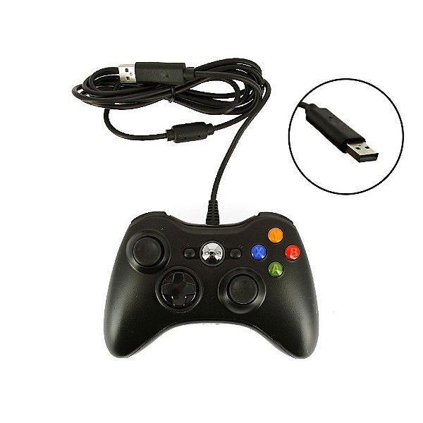 Controle De Vídeo Game Estilo Xbox 360 Com Fio - CON-8147 - Inova