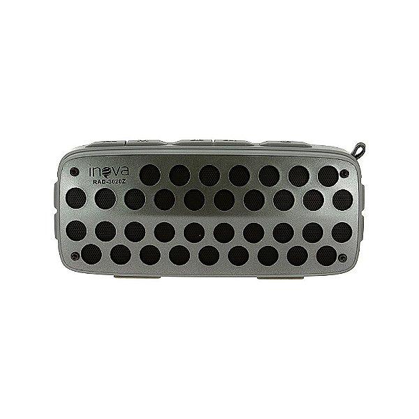 Caixa De Som Sem Fio Portátil Bluetooth Resistente À Água IPX4 - RAD-3020Z - Inova