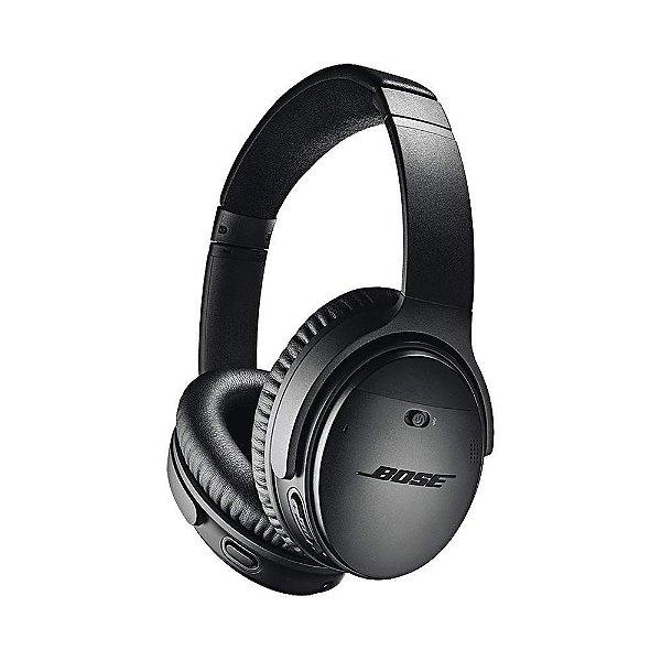 Bose QuietComfort Noise Cancelling 35 II Fone de Ouvido Sem Fio Headphone Com Cancelador De Ruídos Wireless - Preto