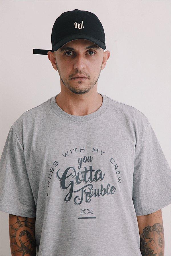Camiseta OWL Gotta Trouble - Mescla