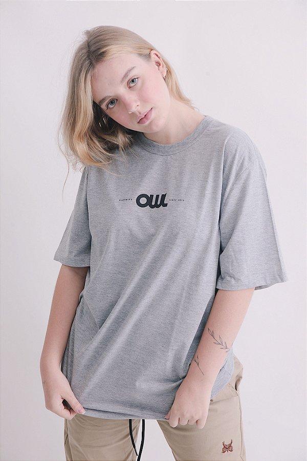 Camiseta OWL New Stuff - Mescla