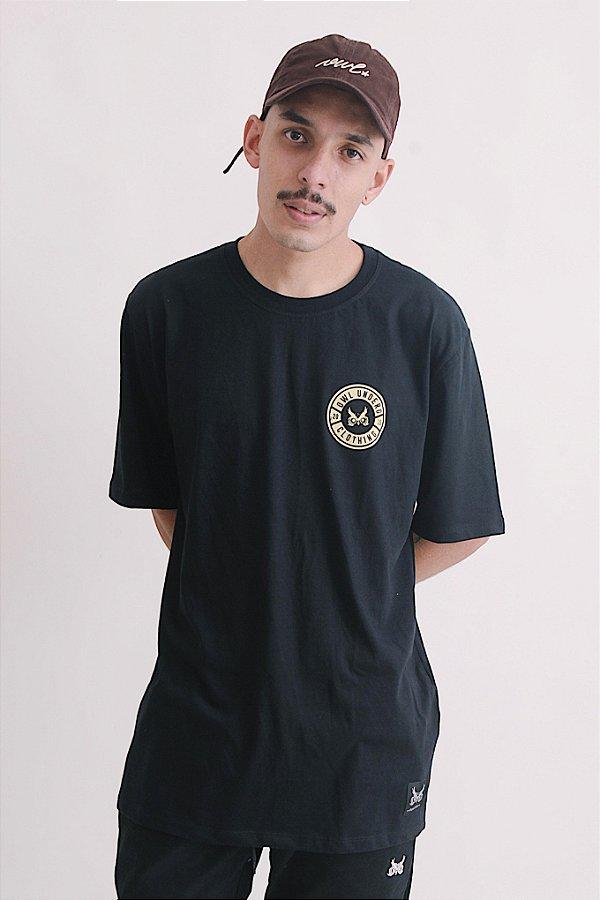 Camiseta OWL Tampa - Preto