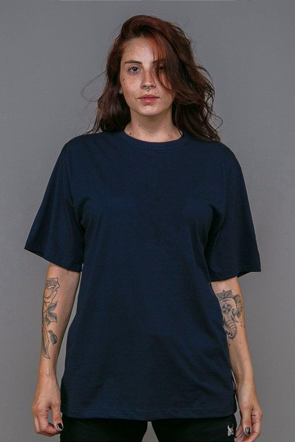 Camiseta Básica OWL - Azul Marinho