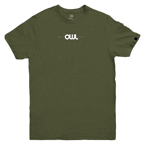 Camiseta OWL New Stuff - Verde Galapagos
