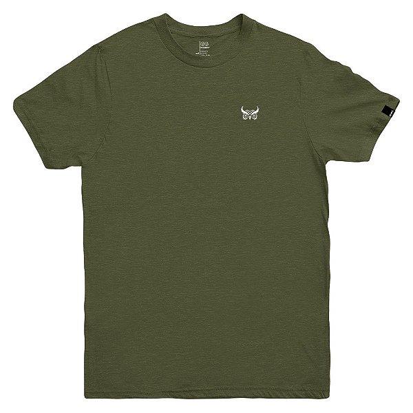 Camiseta OWL Logo Básico - Verde Galapagos
