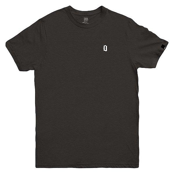 Camiseta OWL Lettering - Cinza Chumbo