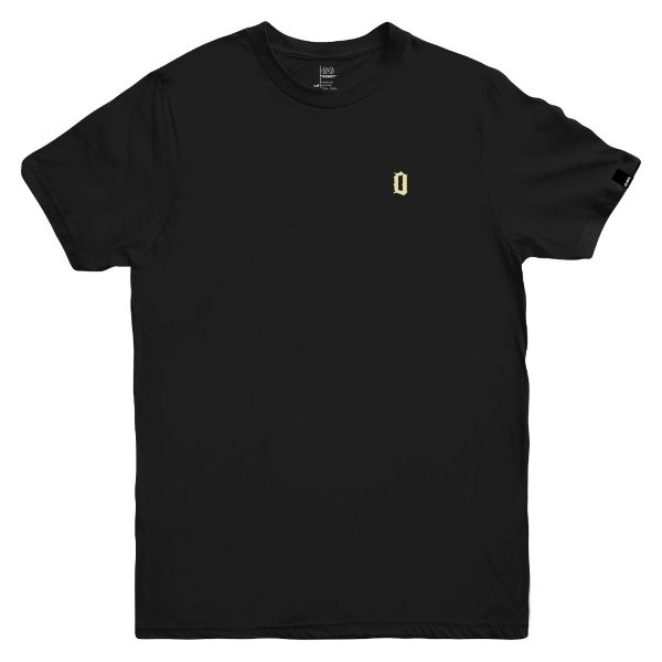 Camiseta OWL Lettering - Preto