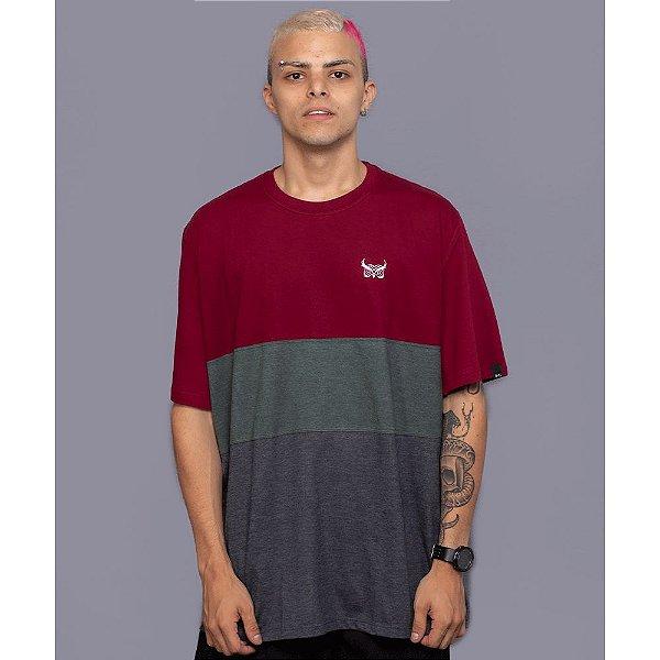 Camiseta Listrada OWL Stripes - Verde