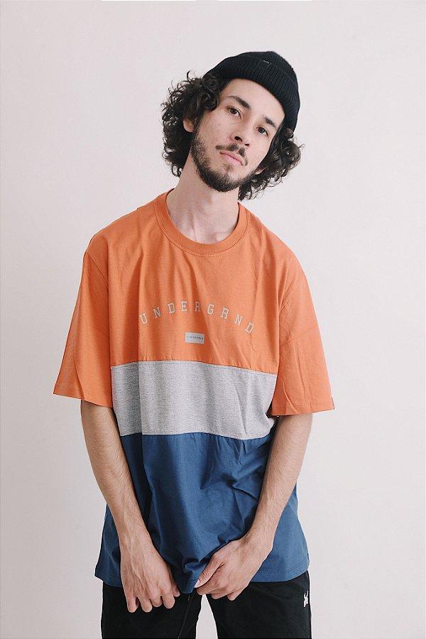 Camiseta OWL Underground Stripes - Color