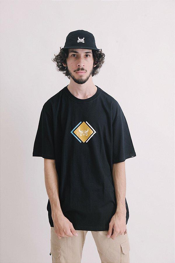Camiseta OWL Cubic - Preto