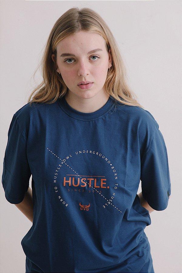 Camiseta OWL Hustle v2 - Azul