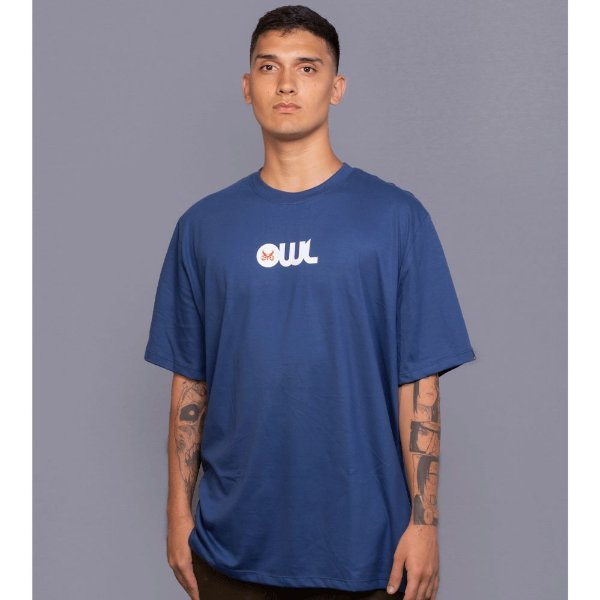 Camiseta OWL Icon - Azul Marinho