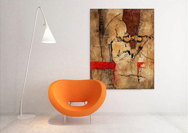 Quadro Decorativo Tela Melody 100 x 80 cm