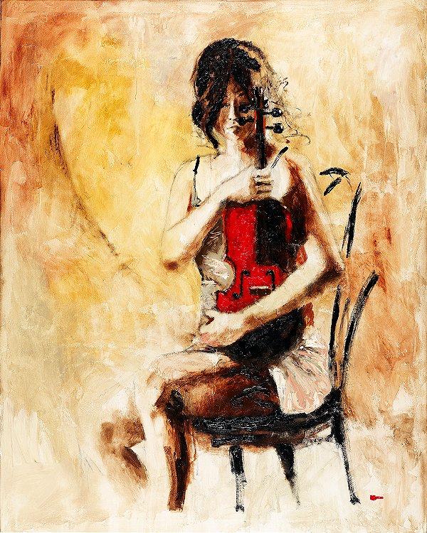 Gravura Fine Art Divine Melody 50 x 40 cm