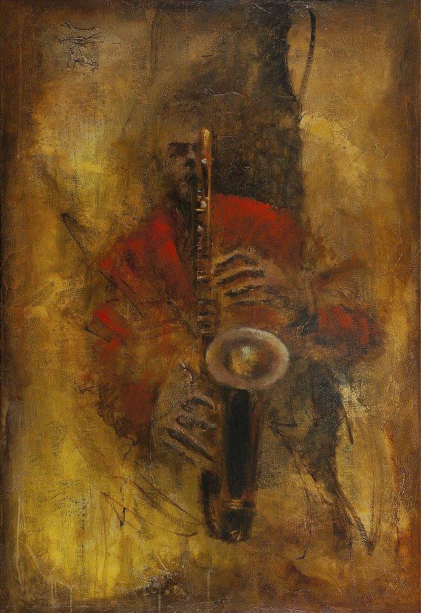 Gravura Fine Art Garota de Ipanema 50 x 35 cm