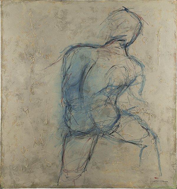 Gravura Fine Art Iron Man 50 x 45 cm