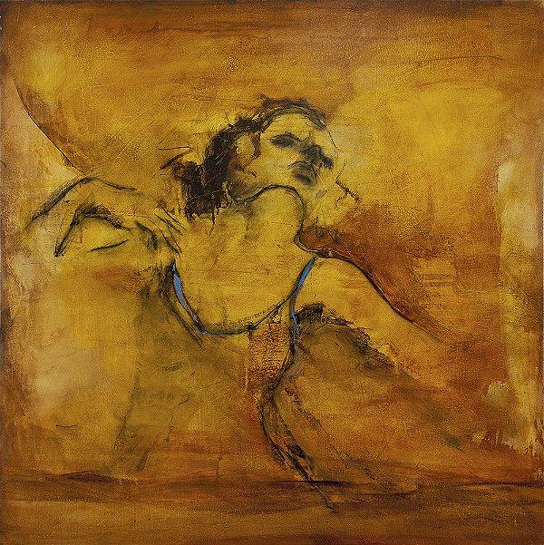 Arte Contemporânea Tela A Amada 70 x 70 cm