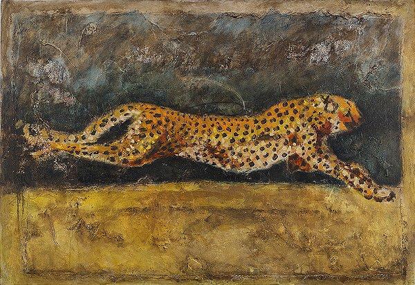 Arte Contemporânea Tela Celer 55 x 80 cm